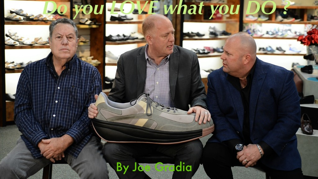 Do you love what you do ? By Joe Gradia