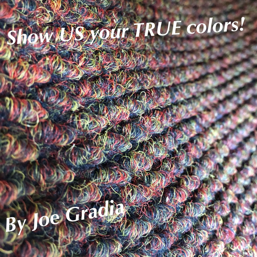 Stand up for your true colors ! By Joe Gradia
