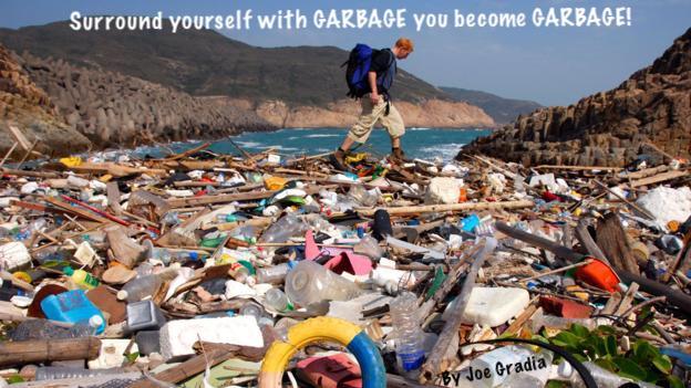 #garbage By Joe Gradia