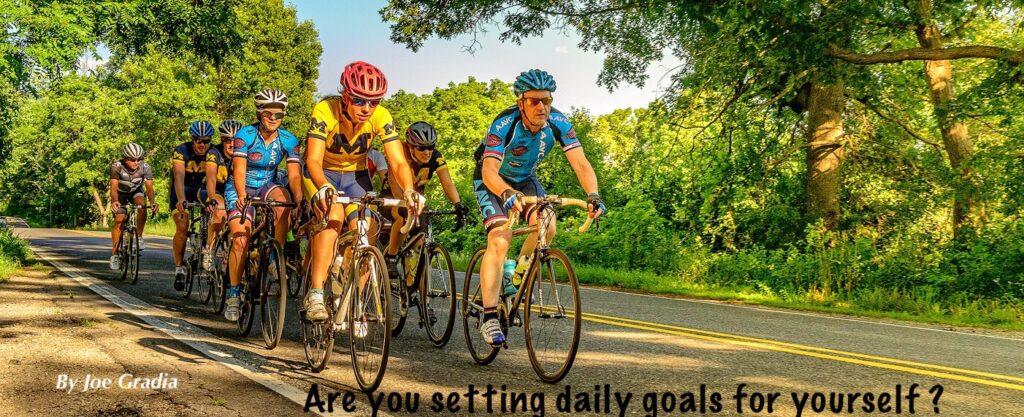 #dailygoals By Joe Gradia