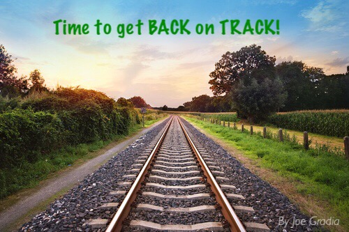 #gettingbackontrack By Joe Gradia