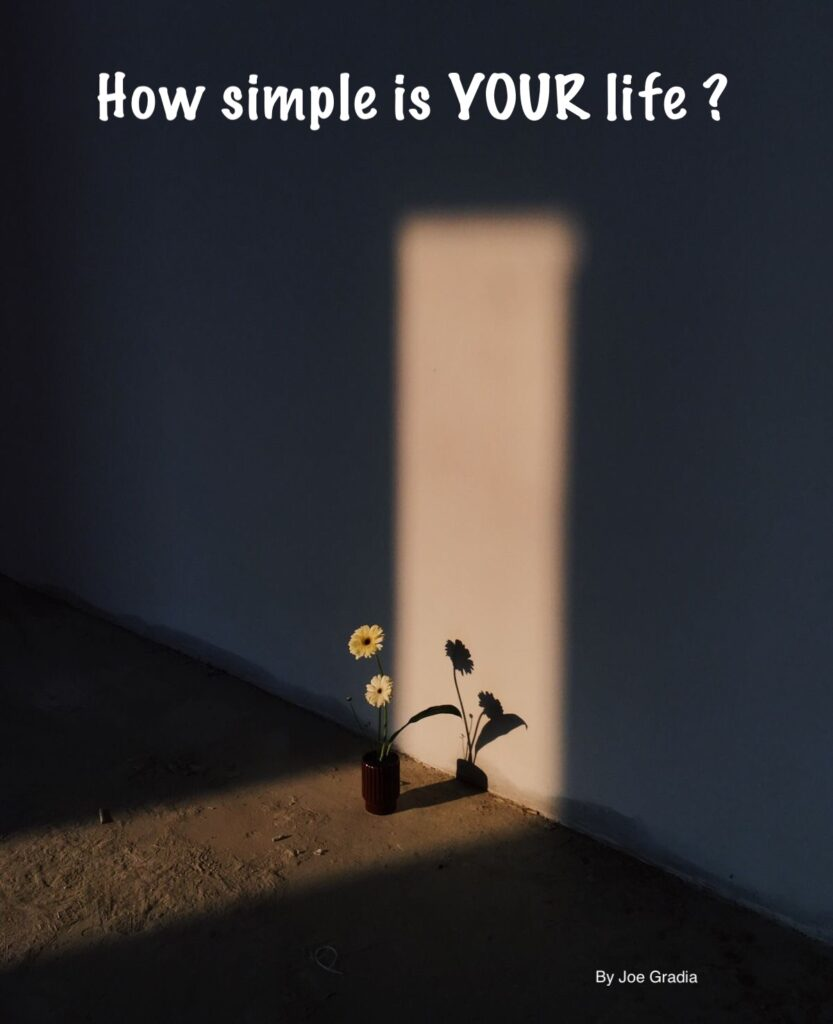 #simplelife By Joe Gradia