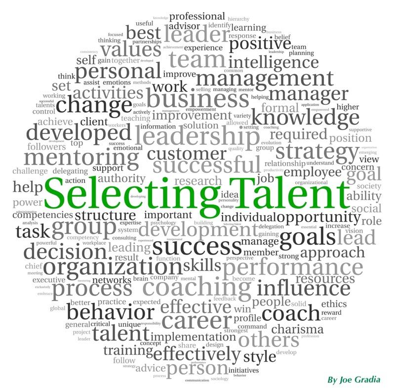#talant By Joe Gradia
