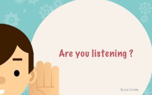 #listening